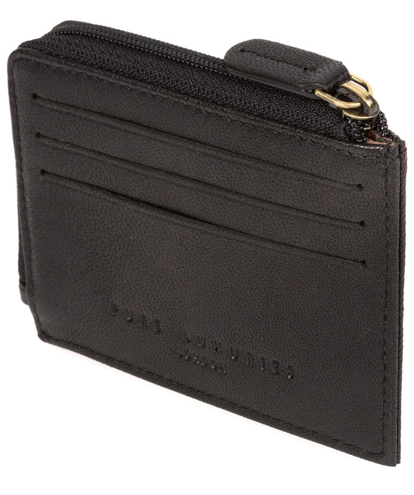 'Cromer' Black Leather Card Holder image 3