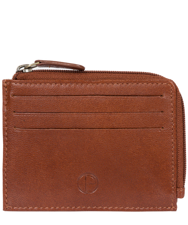 'Cromer' Saddle Leather Card Holder image 1