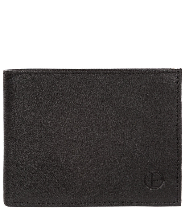 'Noah' Black Leather Wallet image 1