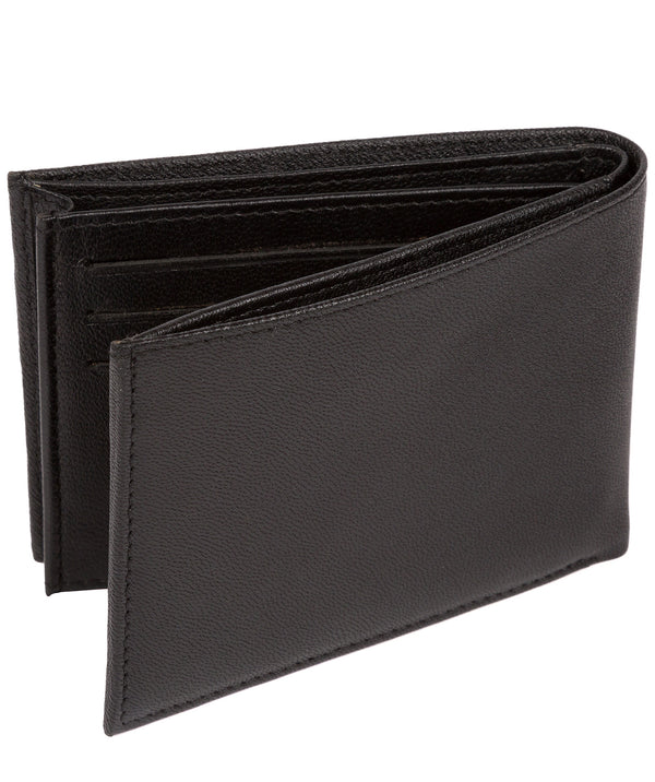 'Noah' Black Leather Wallet image 3