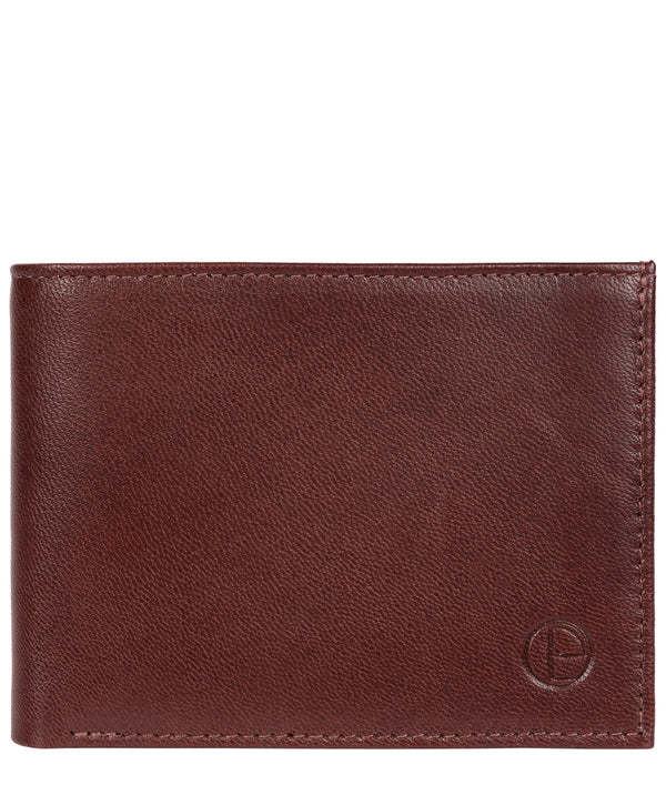 'Noah' Dark Brown Leather Wallet image 1
