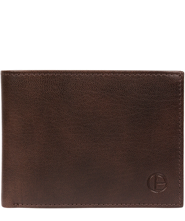 Noah' Vintage Brown Leather Wallet image 1