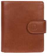 'Jaspar' Saddle Leather Bi-Fold Wallet image 1