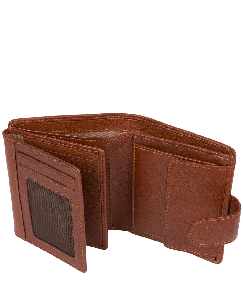 'Jaspar' Saddle Leather Bi-Fold Wallet image 4