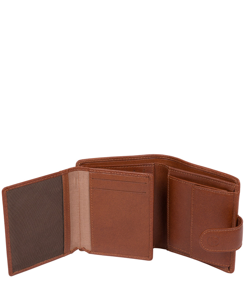 'Jaspar' Saddle Leather Bi-Fold Wallet image 5