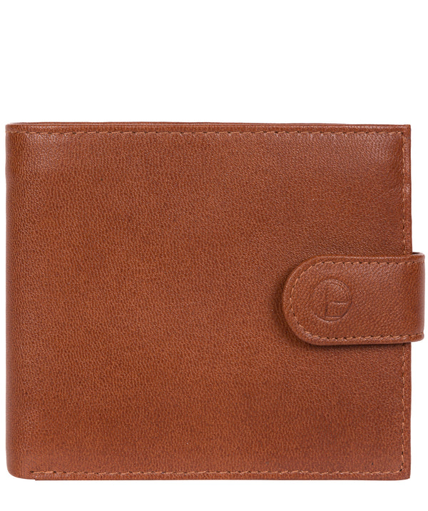 'Charles' Saddle Leather Bi-Fold Wallet image 1
