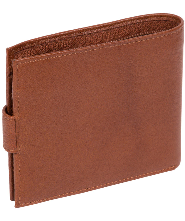 'Charles' Saddle Leather Bi-Fold Wallet image 3