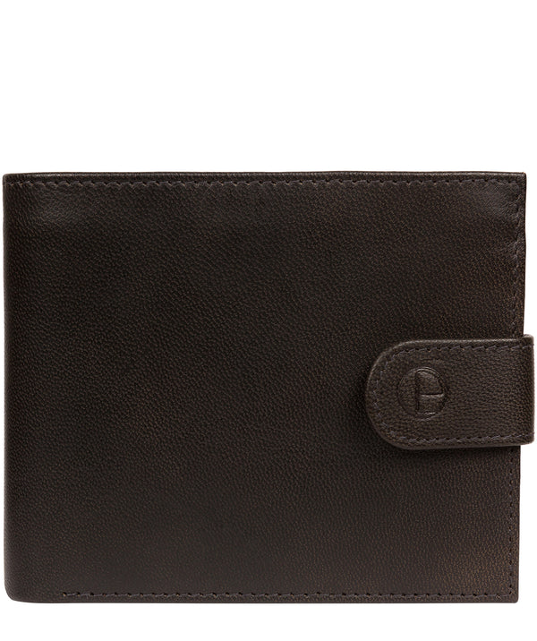 'Charles' Vintage Black Leather Wallet image 1