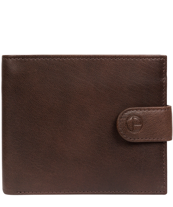'Charles' Vintage Brown Leather Wallet image 1