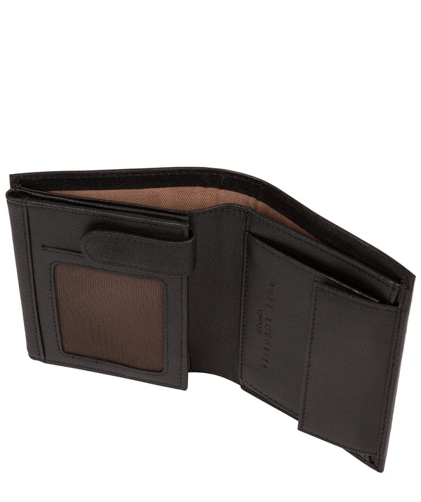 'Dillon' Black Leather Bi-Fold Wallet image 3