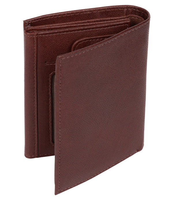 'Dillon' Dark Brown Leather Bi-Fold Wallet image 3