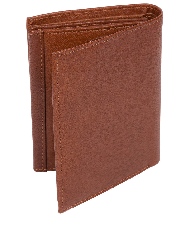 'Dillon' Saddle Leather Bi-Fold Wallet image 3
