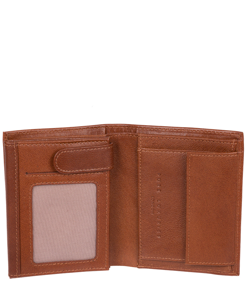 'Dillon' Saddle Leather Bi-Fold Wallet image 4