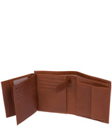 'Dillon' Saddle Leather Bi-Fold Wallet image 6