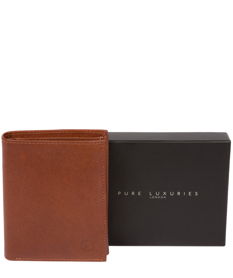 'Dillon' Saddle Leather Bi-Fold Wallet image 7