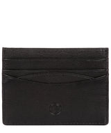 'Tucano' Black Leather Card Holder image 1