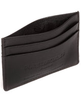 'Tucano' Black Leather Card Holder image 4