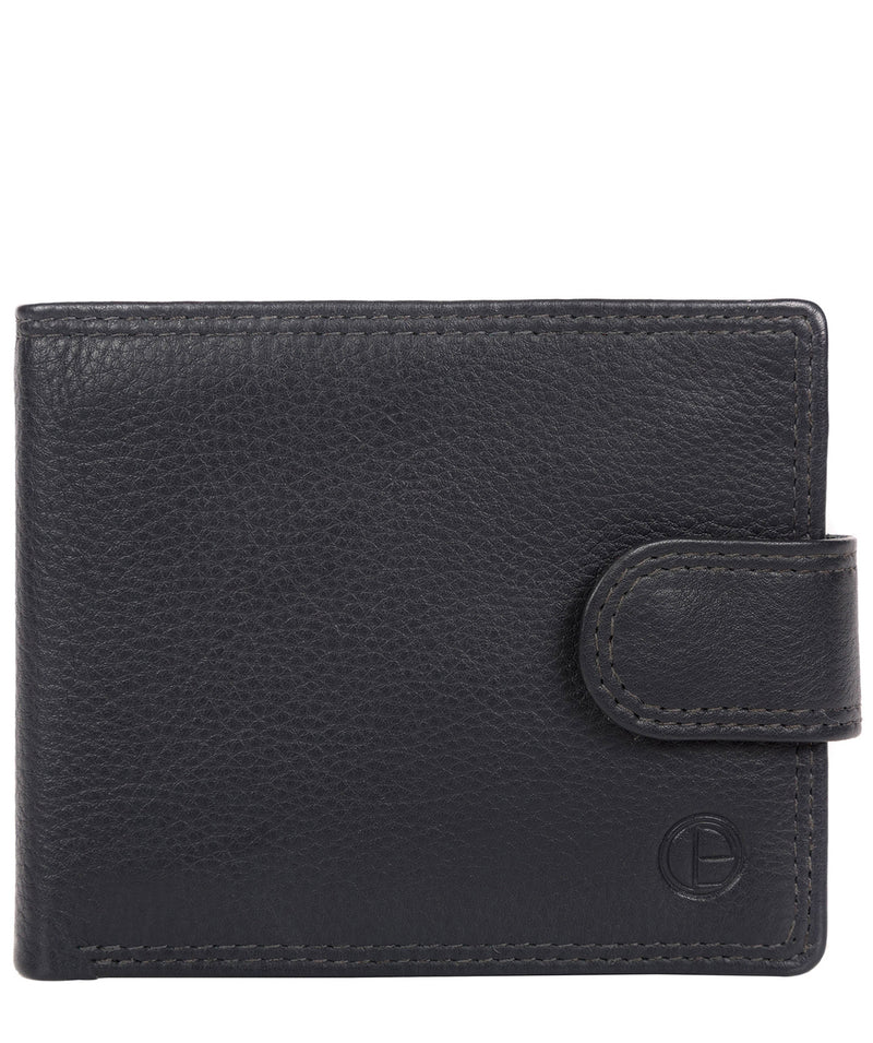 'Spitfire' Navy Leather Bi-Fold Wallet image 1