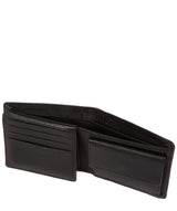 'Hurricane' Black Leather Bi-Fold Wallet image 4