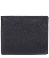 Hurricane' Navy Leather Bi-Fold Wallet image 1