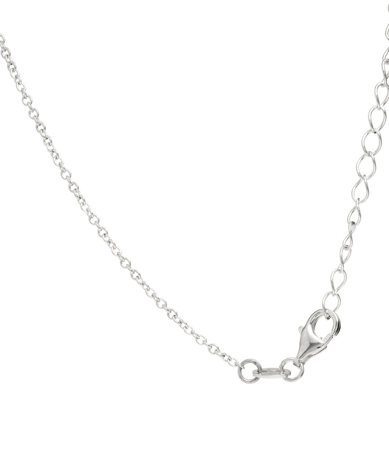 Gift Packaged 'Niamh' Sterling Silver Oval Freshwater Pearl Necklace