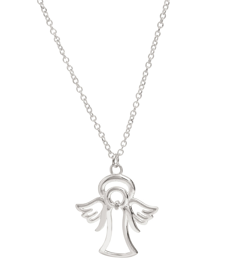 Gift Packaged 'Nelinha' Sterling Silver Angel Necklace