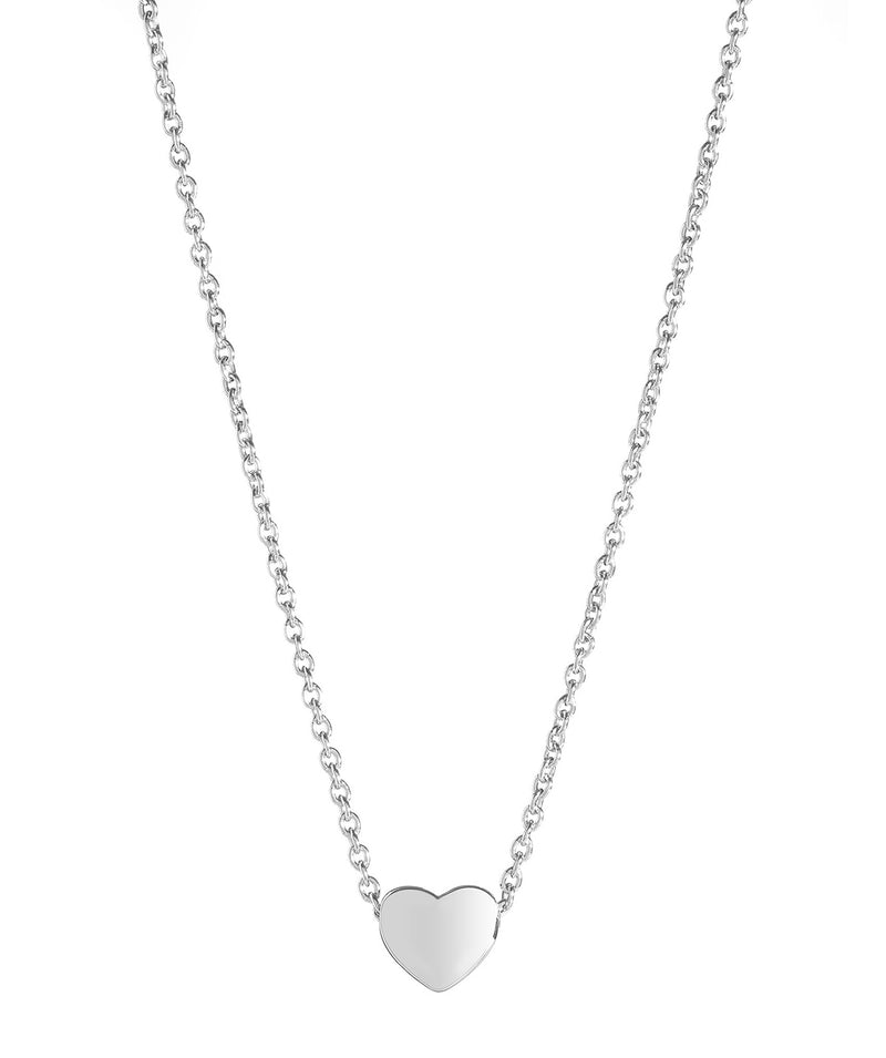'Massika' Sterling Silver Heart Necklace image 1
