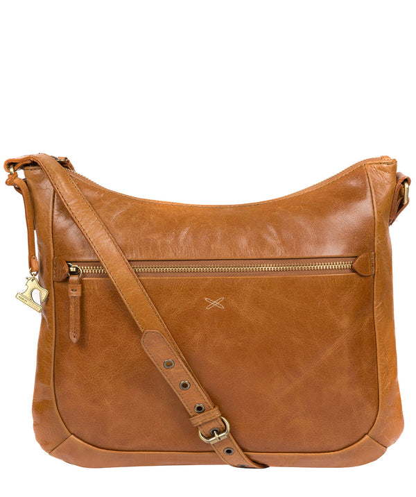 'Kay' Saddle Leather Cross Body Bag image 1