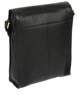 'Sophia' Black Leather Cross Body Bag image 5