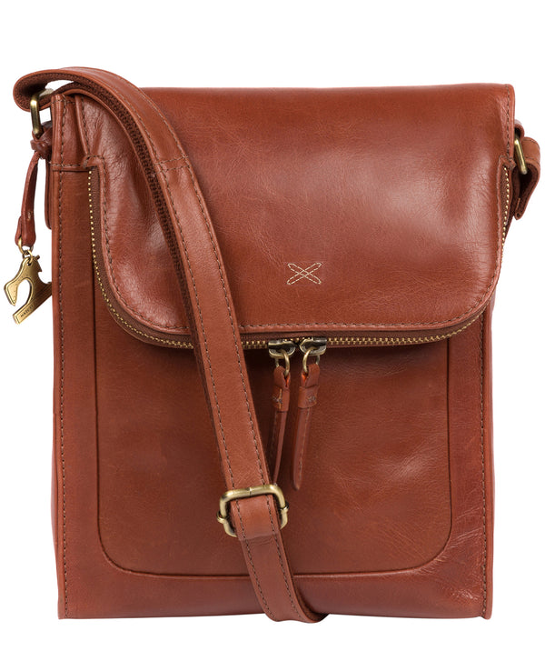 'Sophia' Whiskey Cross Body Bag image 1