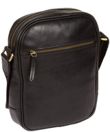'Cartmel' Black Leather Cross Body Bag image 7