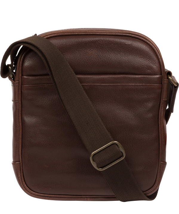 'Cartmel' Malt Leather Cross Body Bag image 1
