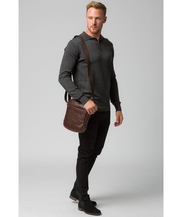 'Cartmel' Malt Leather Cross Body Bag image 2
