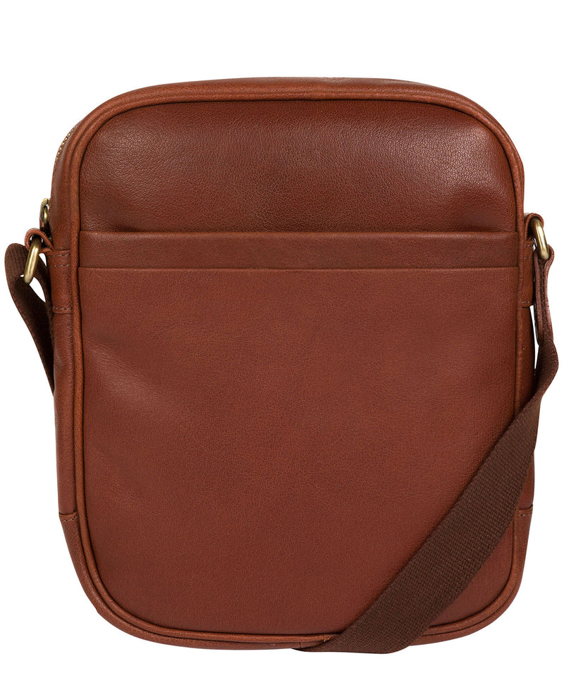 'Cartmel' Treacle Leather Cross Body Bag image 1