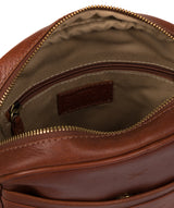 'Cartmel' Treacle Leather Cross Body Bag image 4