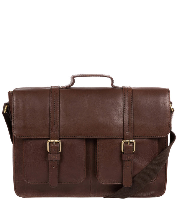 'Garsdale' Malt Leather Briefcase image 1