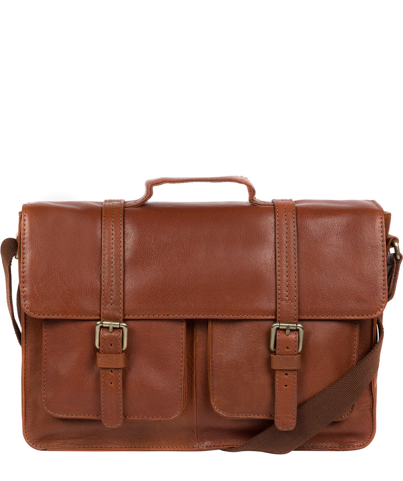 'Garsdale' Treacle Leather Briefcase image 1