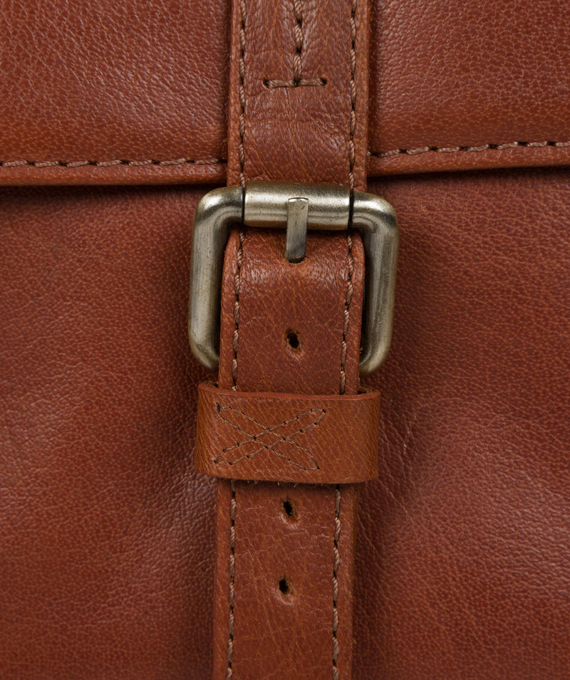 'Garsdale' Treacle Leather Briefcase image 6