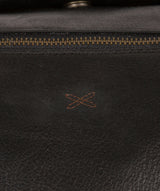 'Port' Black Leather Holdall image 6