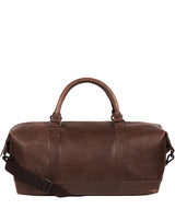 'Port' Malt Leather Holdall image 1