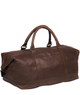 'Port' Malt Leather Holdall image 3