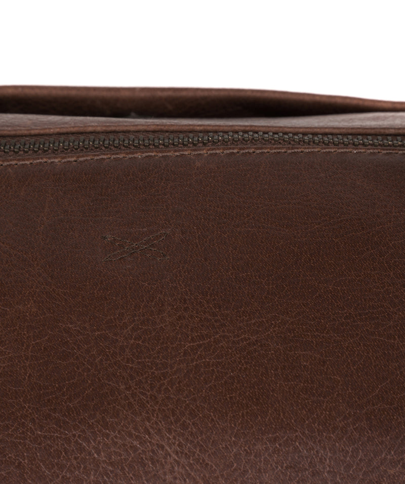 'Port' Malt Leather Holdall image 5