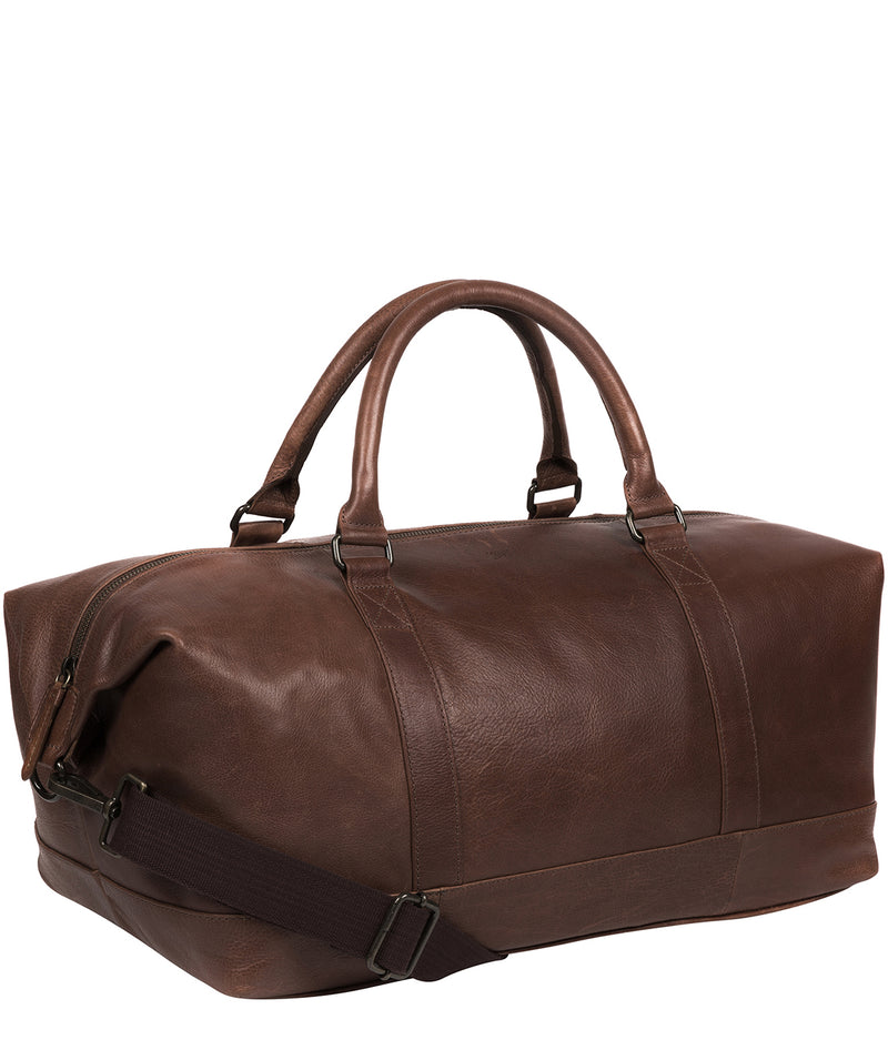 'Port' Malt Leather Holdall image 6
