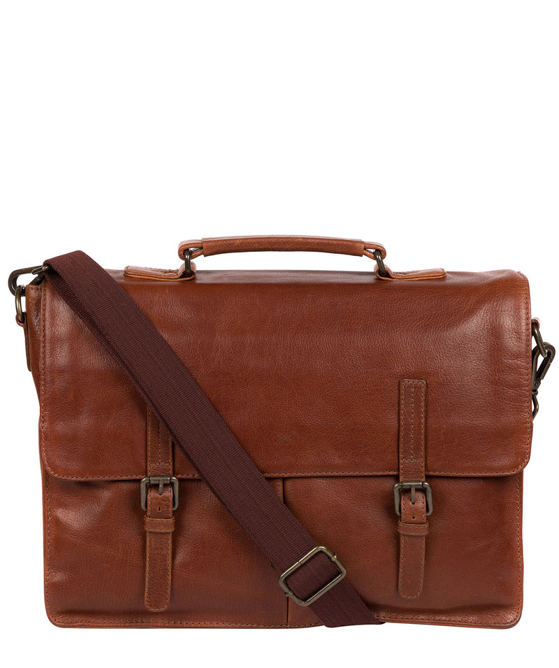 'Lorton' Treacle Leather Briefcase image 1