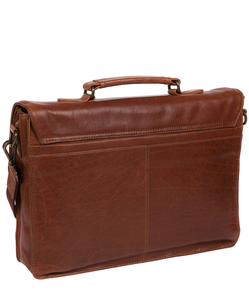 'Lorton' Treacle Leather Briefcase image 3