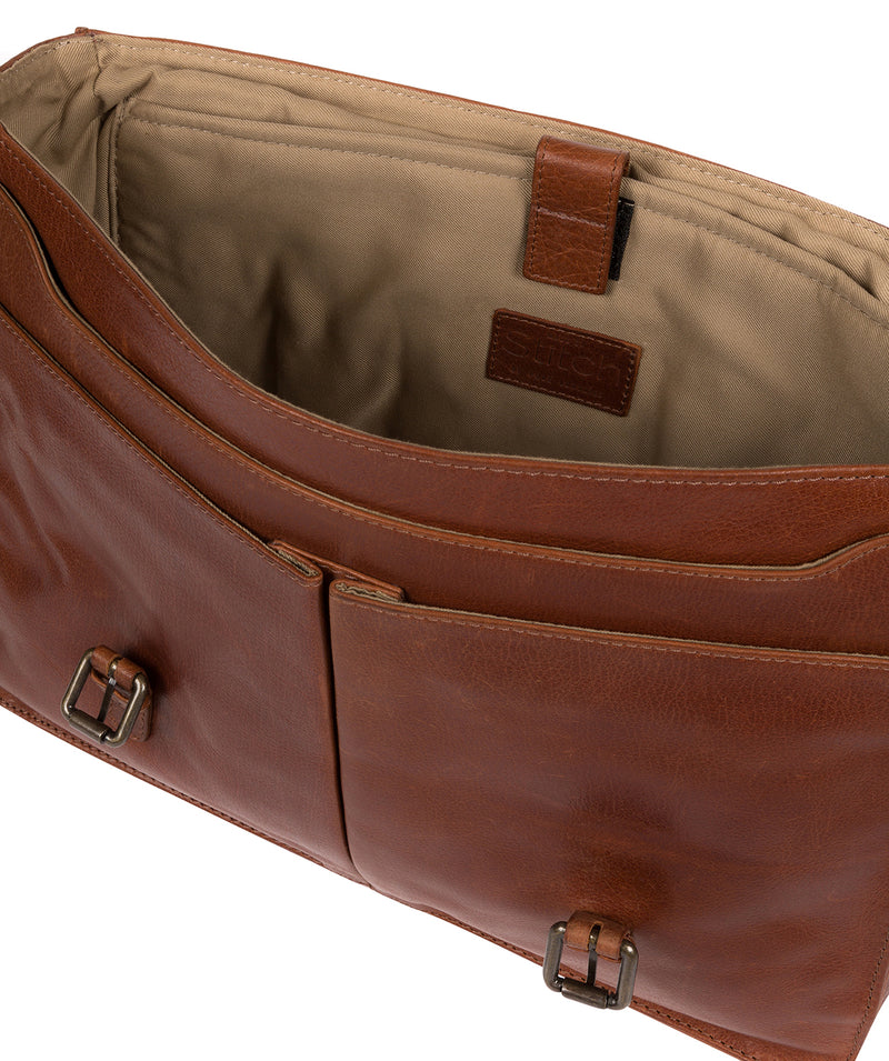 'Lorton' Treacle Leather Briefcase image 4