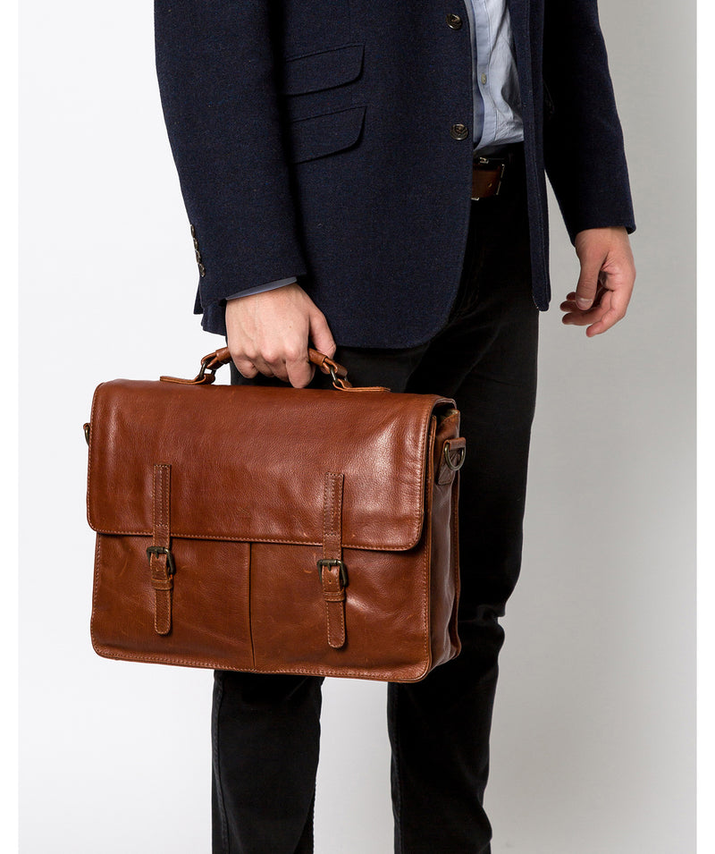 'Lorton' Treacle Leather Briefcase