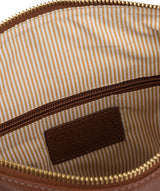 'Essie' Cognac Leather Cross Body Bag image 4