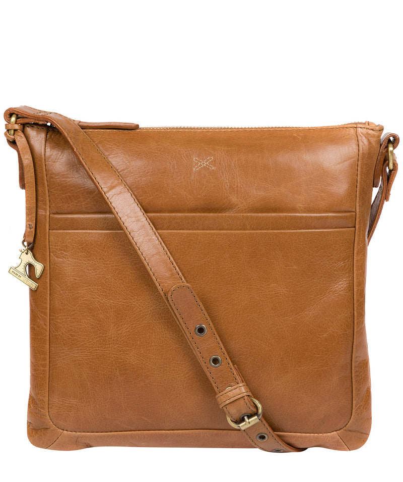 'Essie' Saddle Leather Cross Body Bag image 1