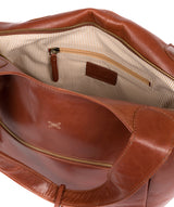 'Imani' Whiskey Leather Tote Bag image 4